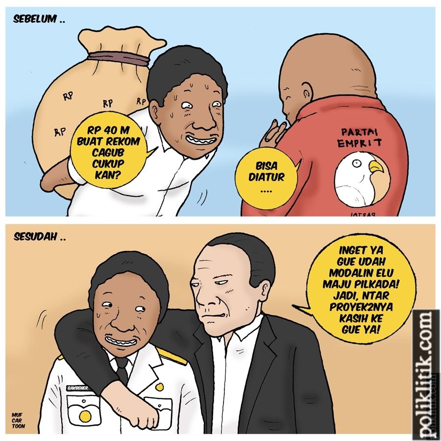 Mahar Politik, La Nyalla, dan Prabowo