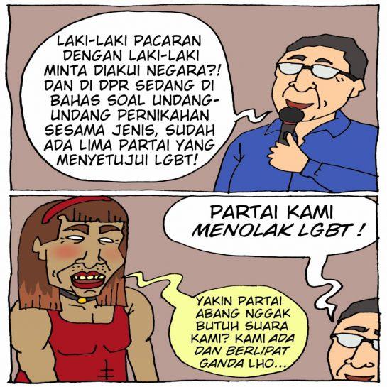 Pernyataan Ketua MPR Soal LGBT
