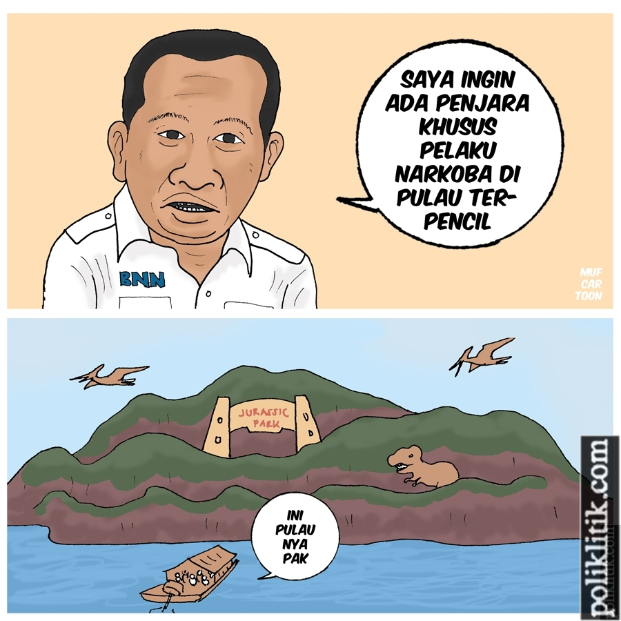 Pulau Yang Indah Bagai Surga, Manusia Bijaksana