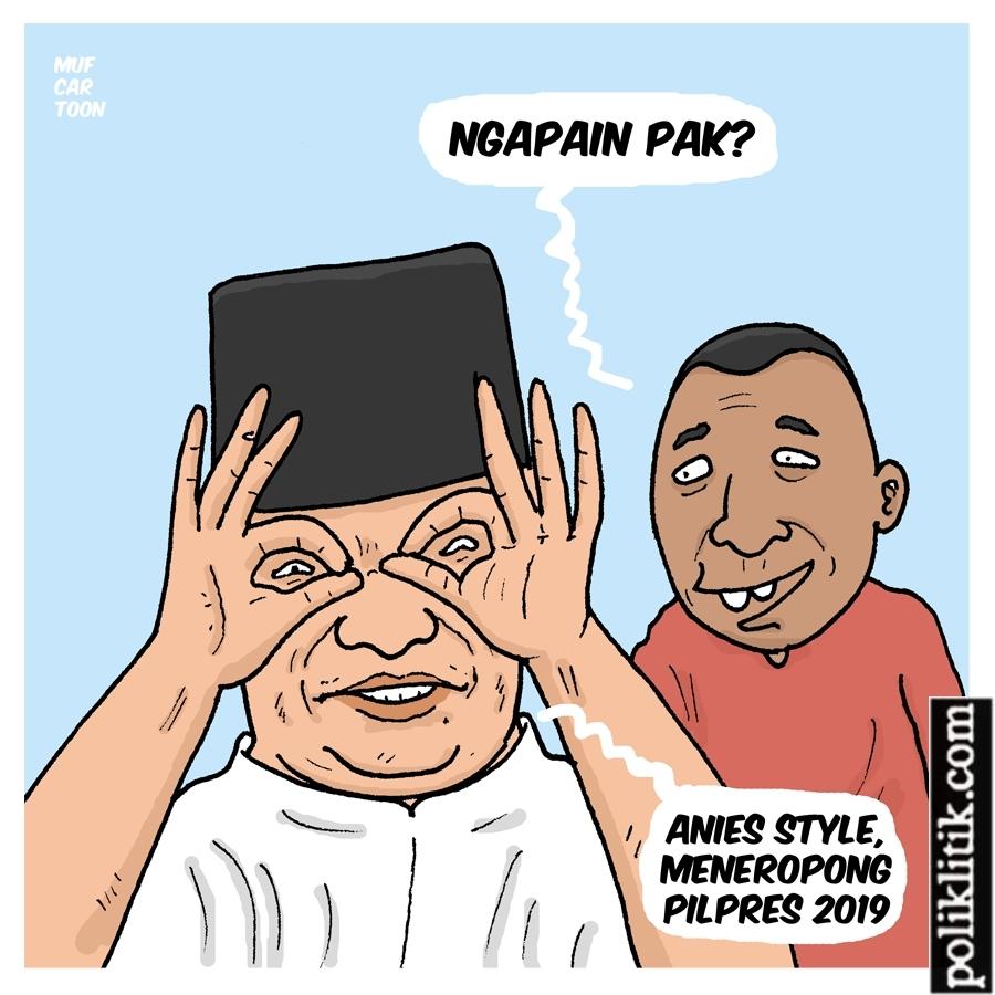Anies Mendampingi Prabowo