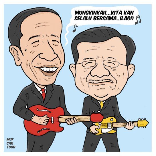 Jokowi - JK lagi?