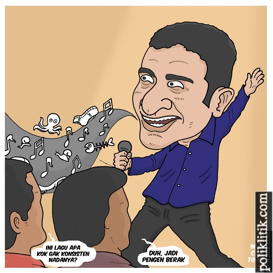 Inkonsistensi Nazaruddin
