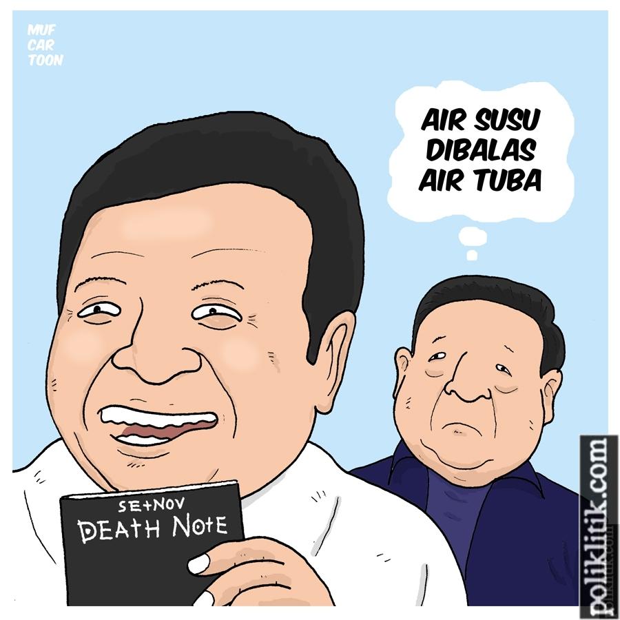 Antara Setnov, Buku Hitam, dan SBY
