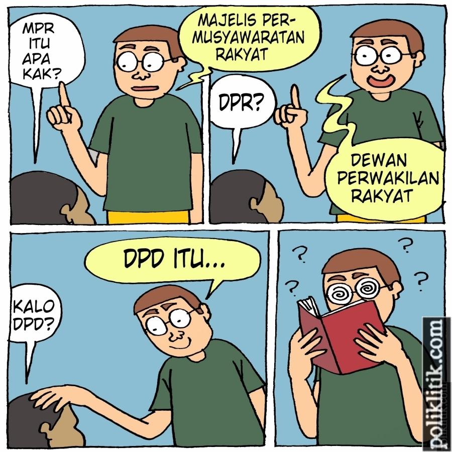 Gaung DPD Tidak Terdengar