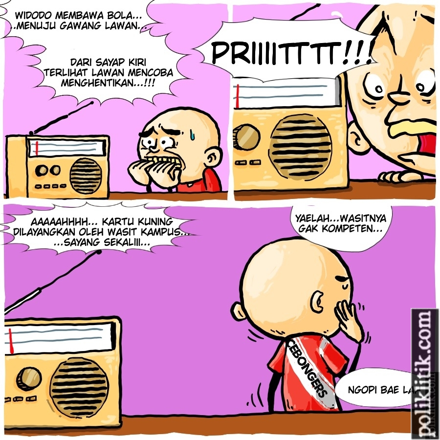 Kartu Kuning Untuk Jokowi