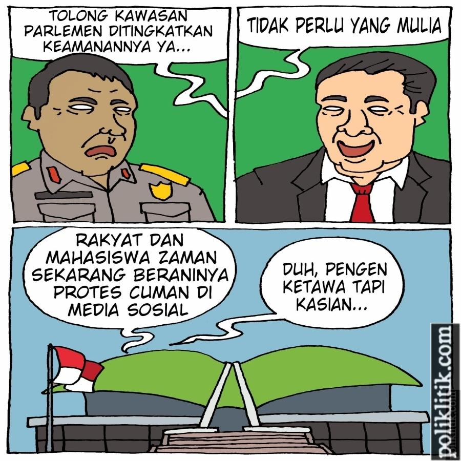 Tingkatkan Keamanan Lingkungan MPR, DPR dan DPD
