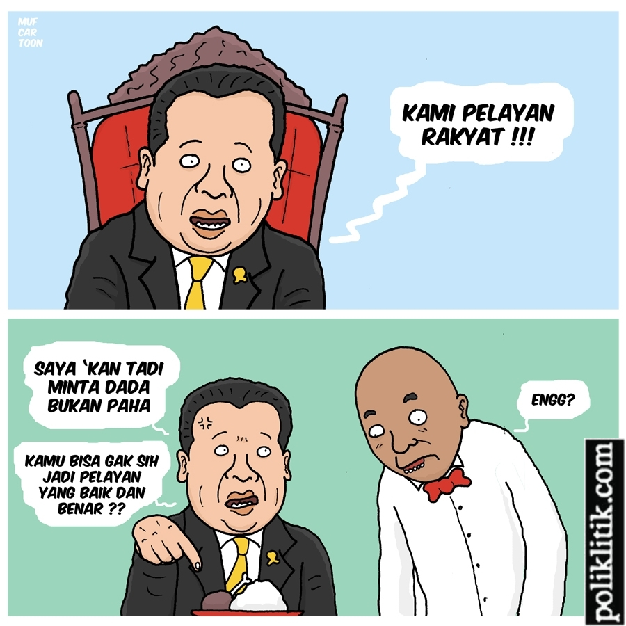 DPR Pelayan Rakyat?