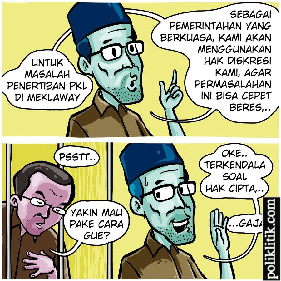 Penertiban PKL Di Jakarta