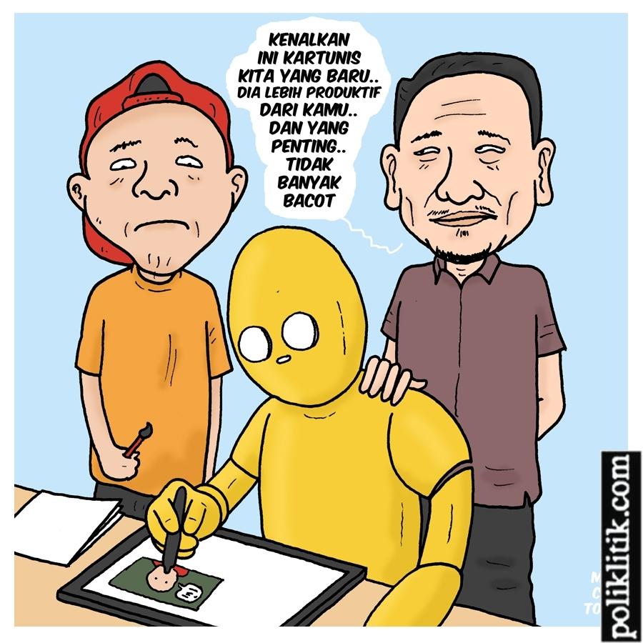 800 Pekerja Diganti Robot