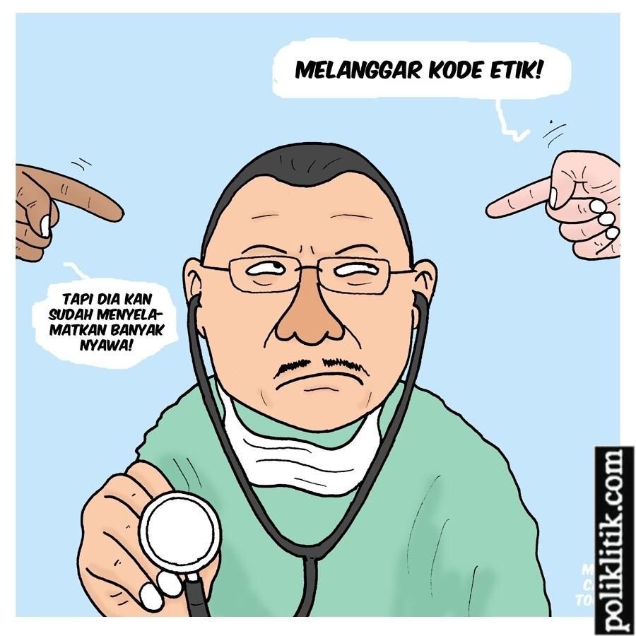 Dokter Terawan, Inovasi atau Pelanggaran Kode Etik Profesi