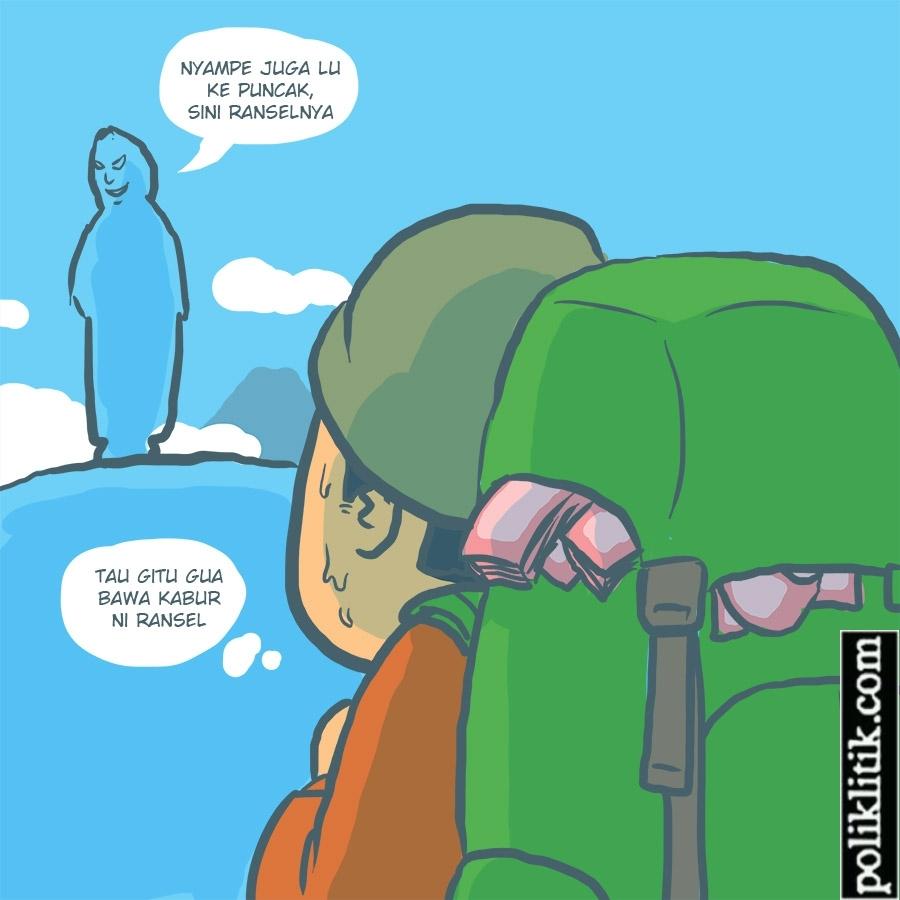 Duit Seransel; Postingan Anak Gunung