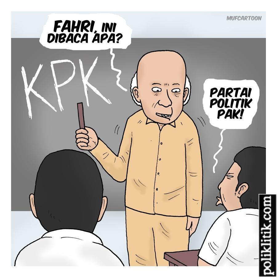 KPK Adalah Partai Politik!