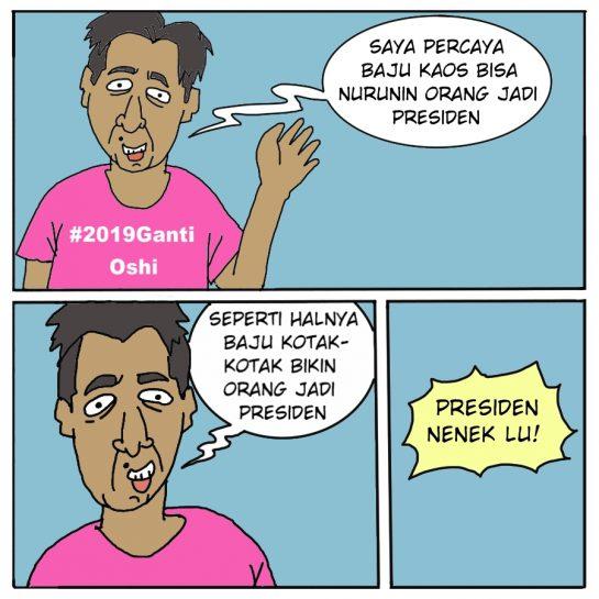 kaos presiden