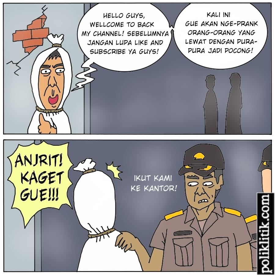 Pocong Dicari Polisi