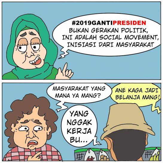Bukan Gerakan Politik