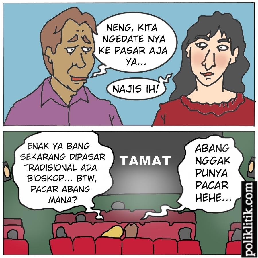 Bioskop Masuk Pasar