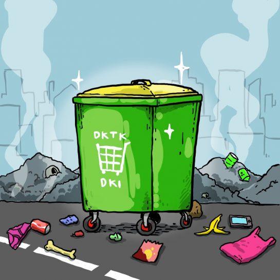 Tempat Sampah Mewah
