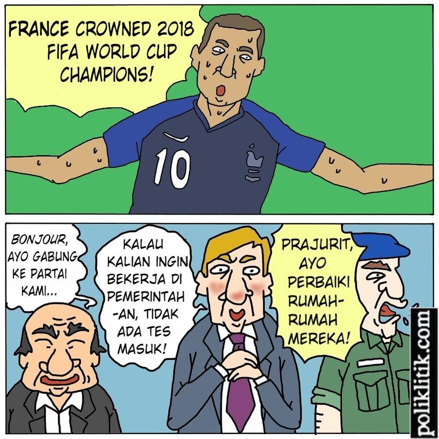 Prancis Juara