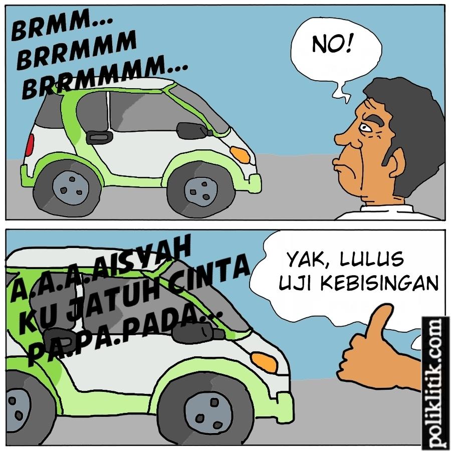 Suara Mobil Listrik