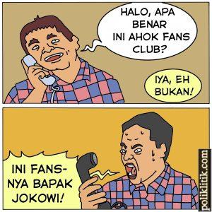 Ahokers Jadi Jokowers