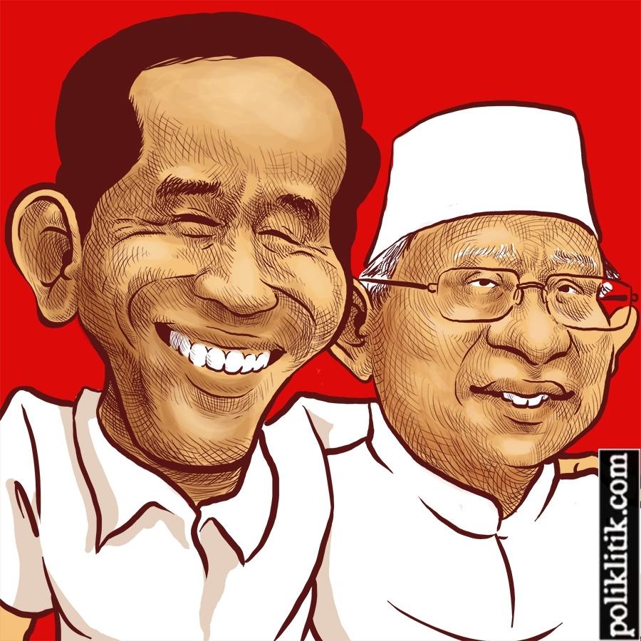 Jokowi Gandeng Maruf Amin