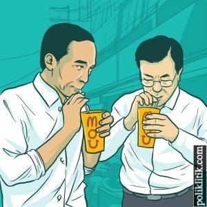 Jokowi & Moon Jae-In