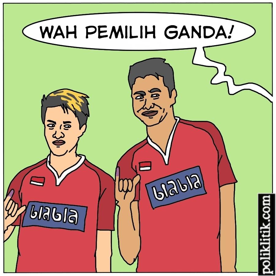 Pemilih Ganda