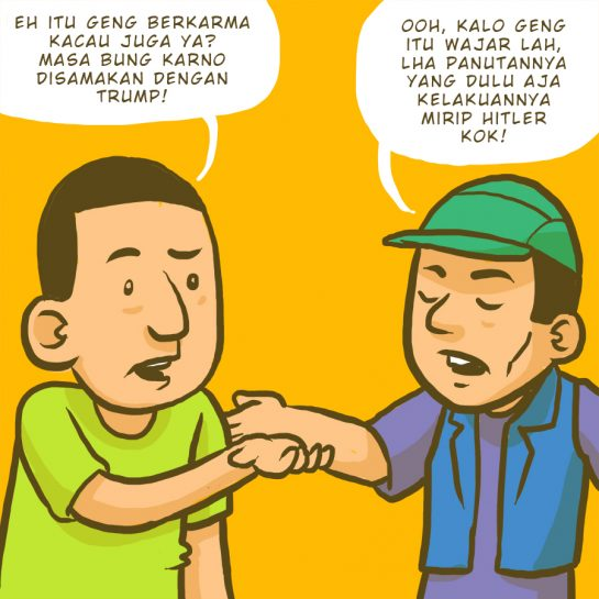 Sukarno dan Trump
