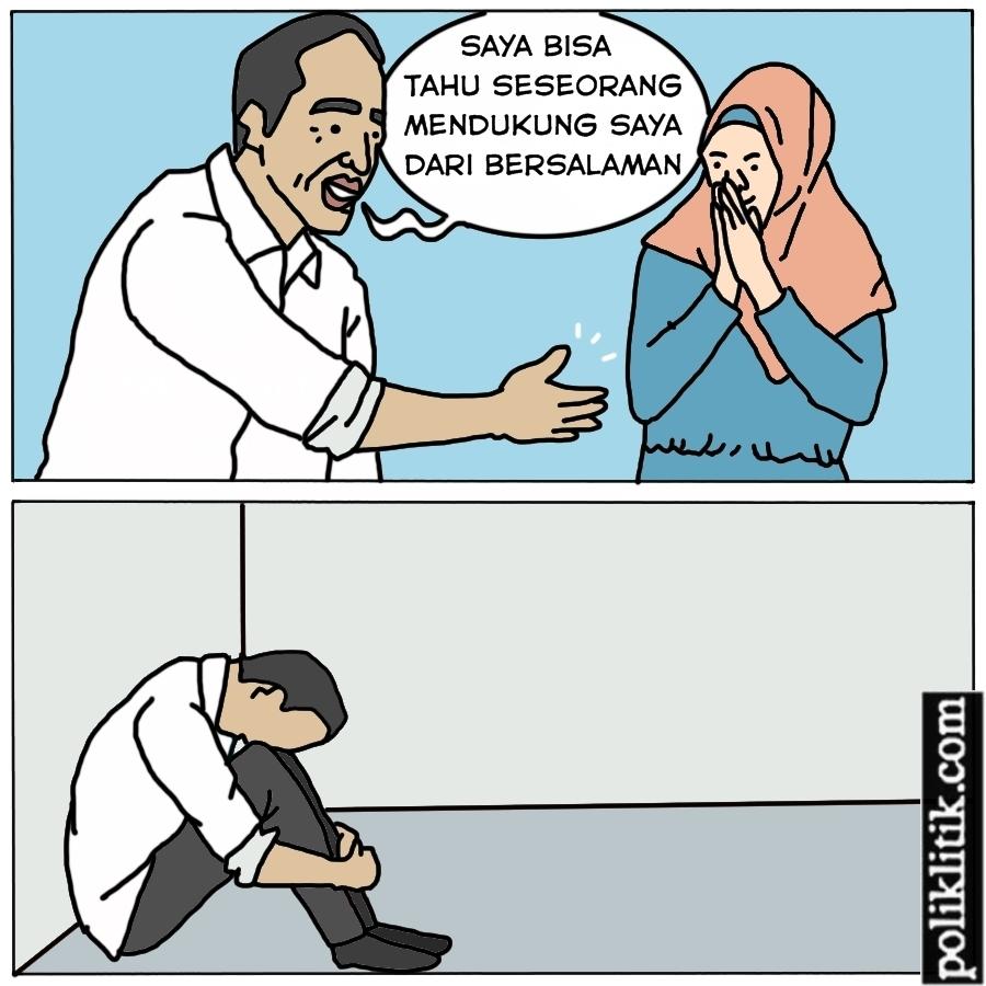 Deteksi Dari Salaman