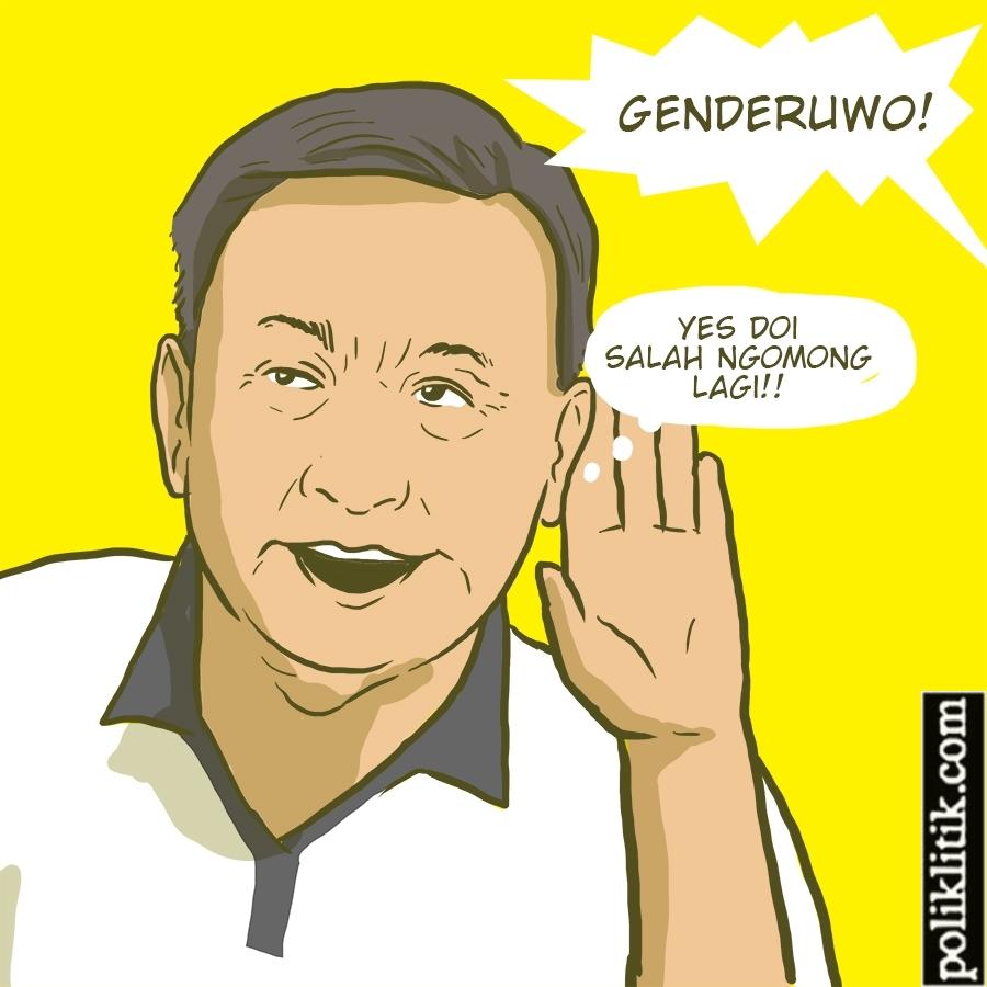 Genderuwo Bikin Hepi