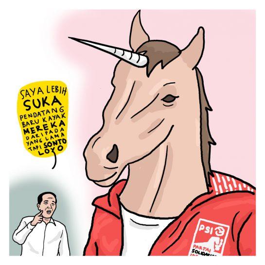 Unicorn Dunia Politik