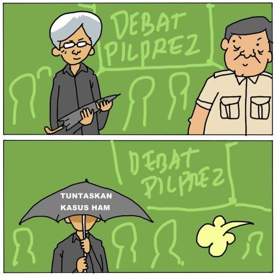 Debat Pilpres Soal HAM