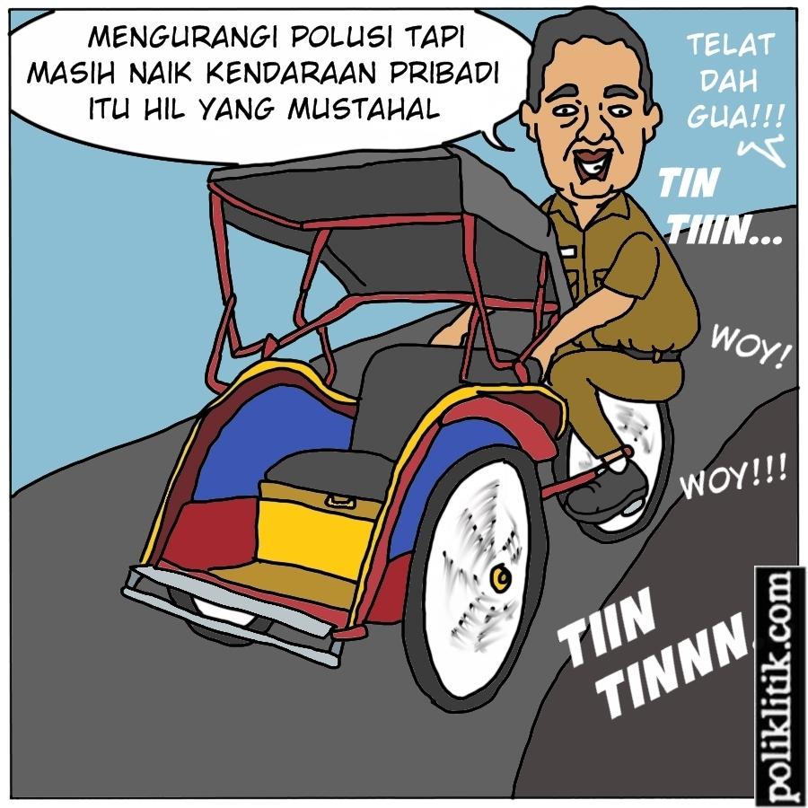 Pakai Kendaraan Umum