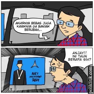 Baliho Futuristik