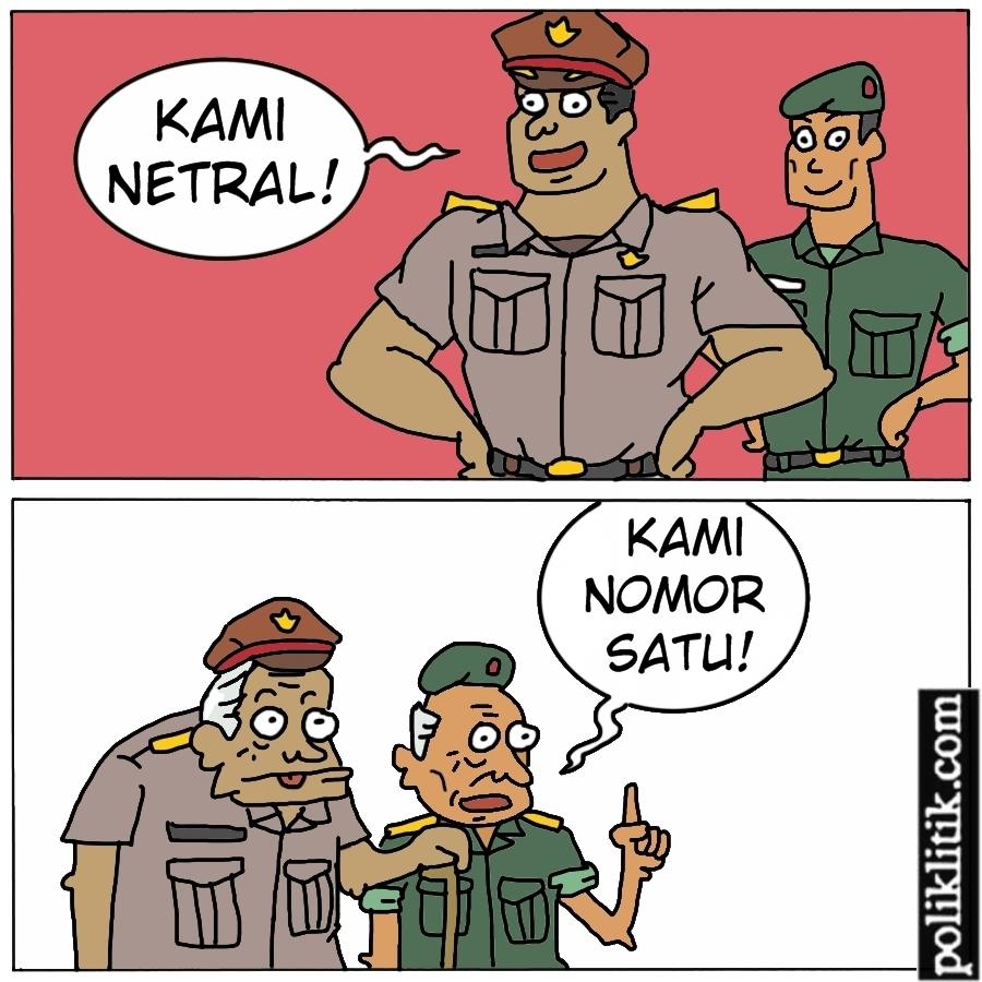 Dukungan Purnawirawan