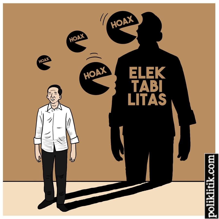 Elektabilitas Terkikis