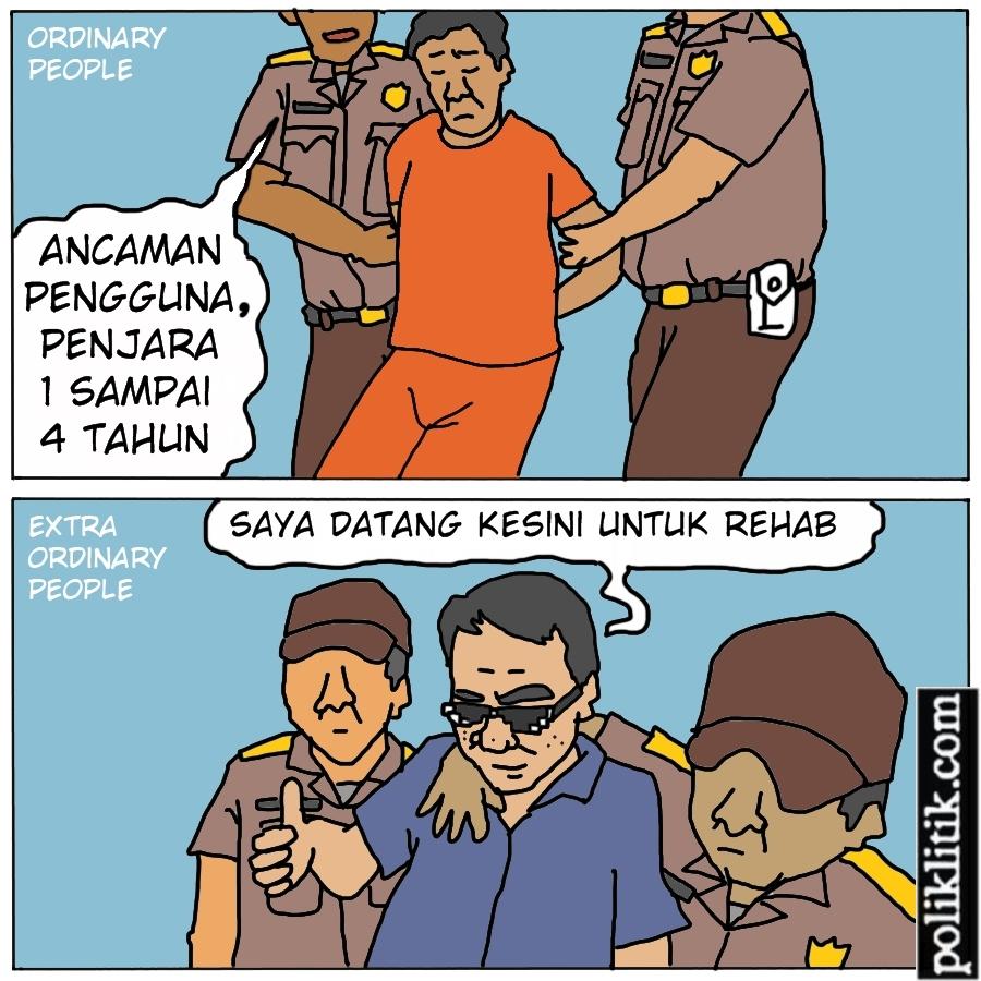Harusnya Dipenjara