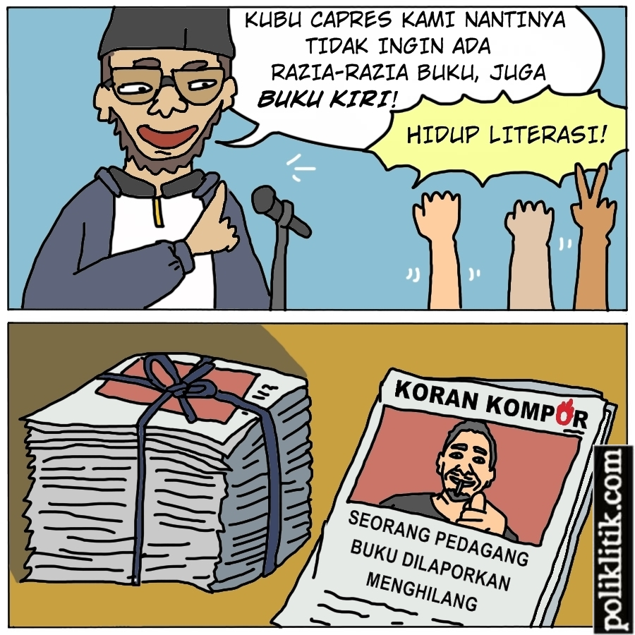 Tidak Akan Razia Buku