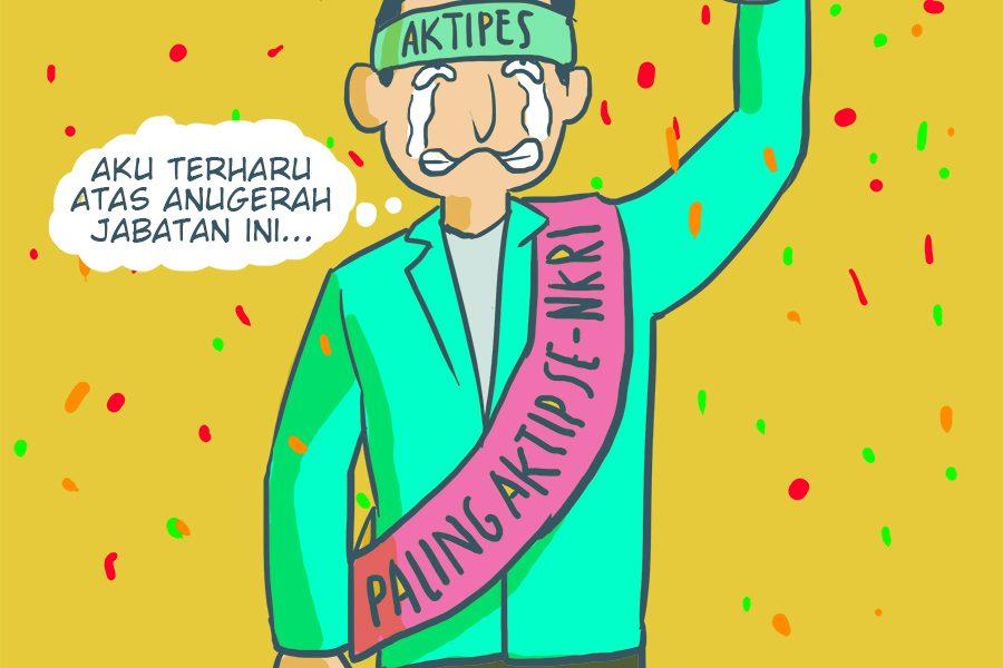 Aktivis Menteri
