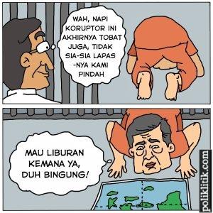 koruptor tobat