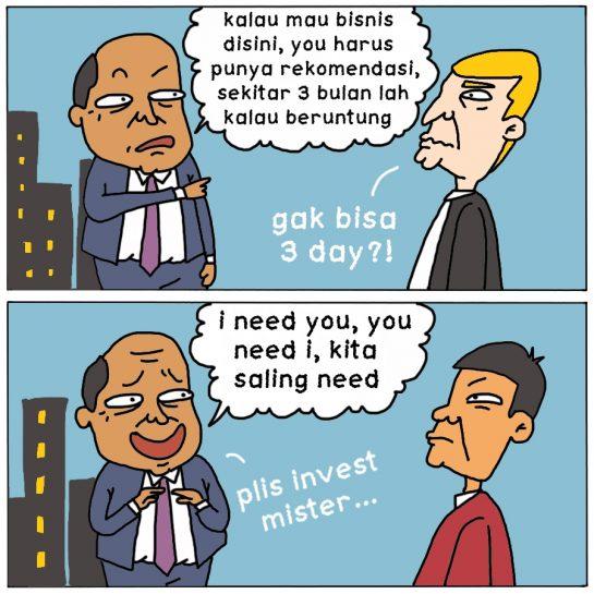 Menjaring Investasi