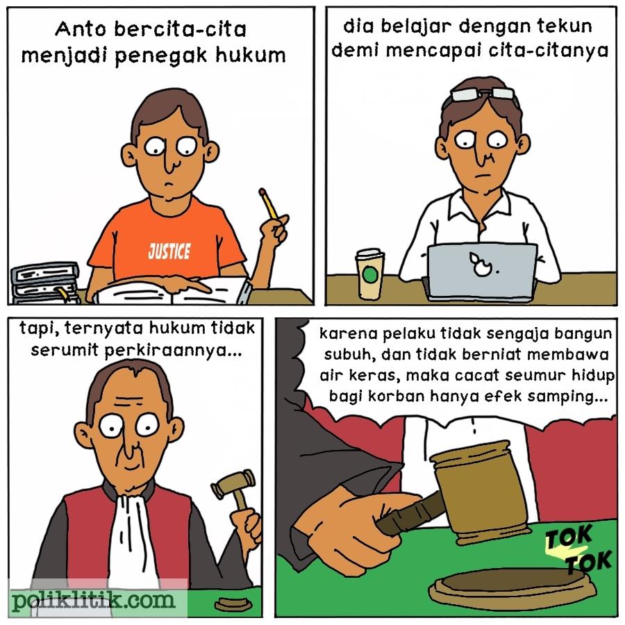 Hukum Yang Gak Niat
