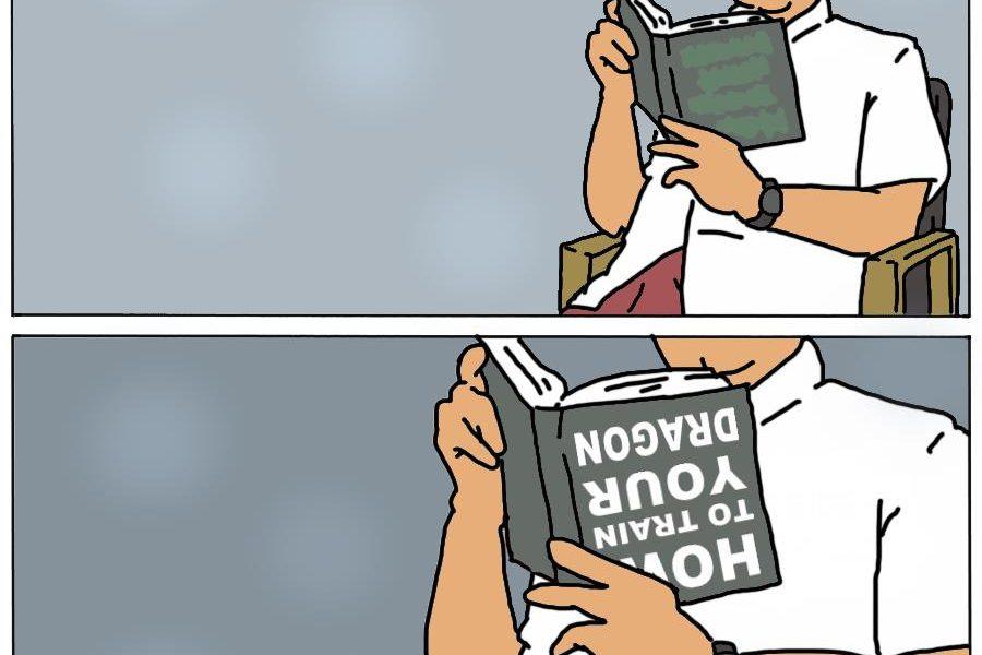 Membaca dan Menyindir