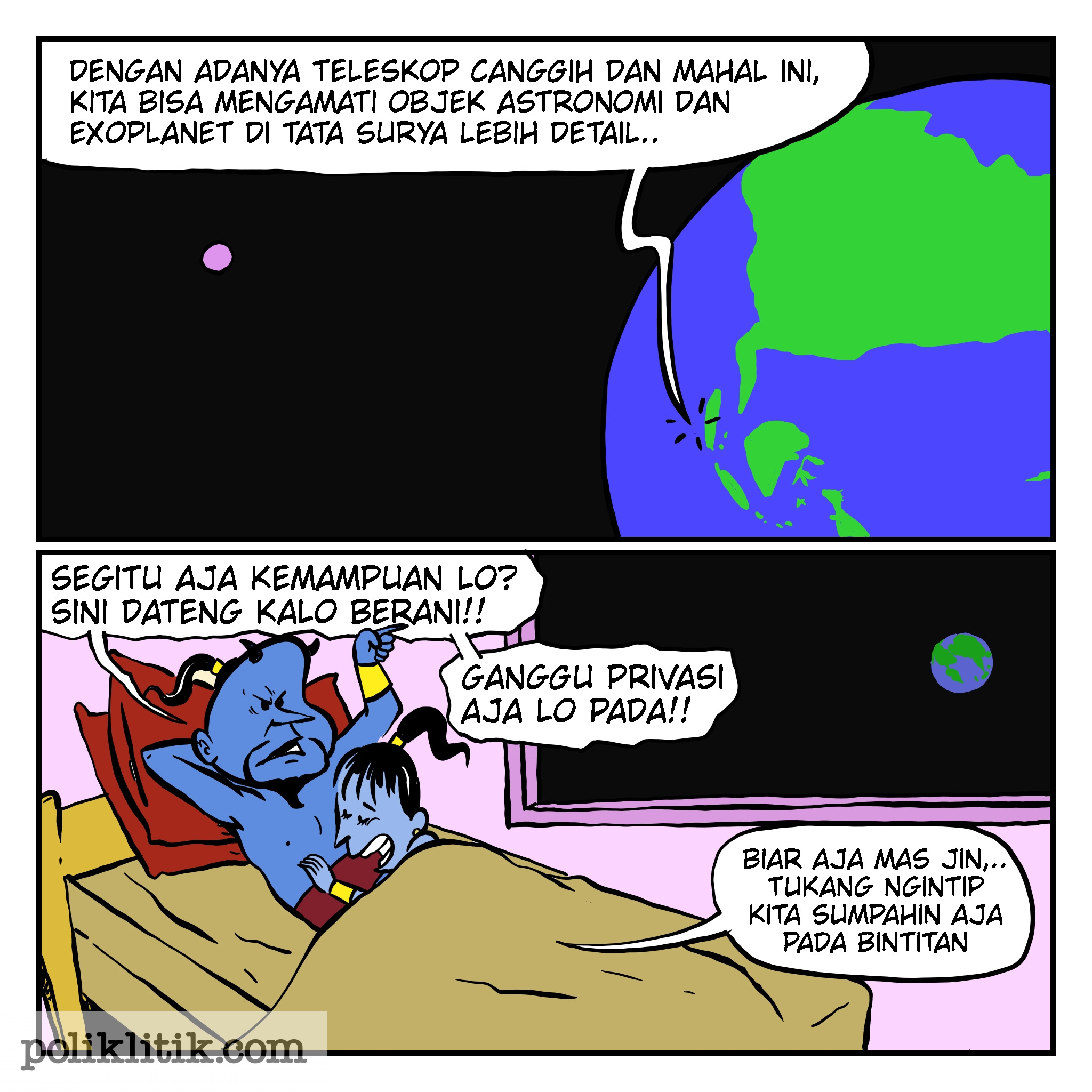 Mencari Exoplanet Disangka Alien