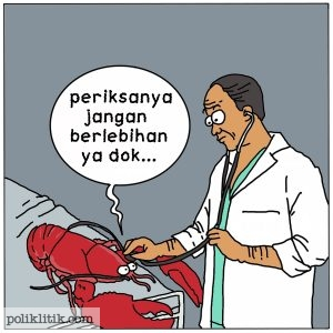 Jangan Berlebihan Goreng Lobsternya!