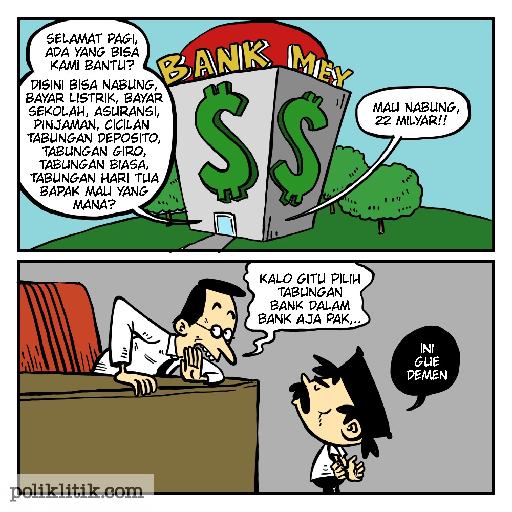 Ada Bank di Balik Bank