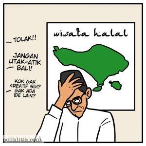 Menghijaukan Bali