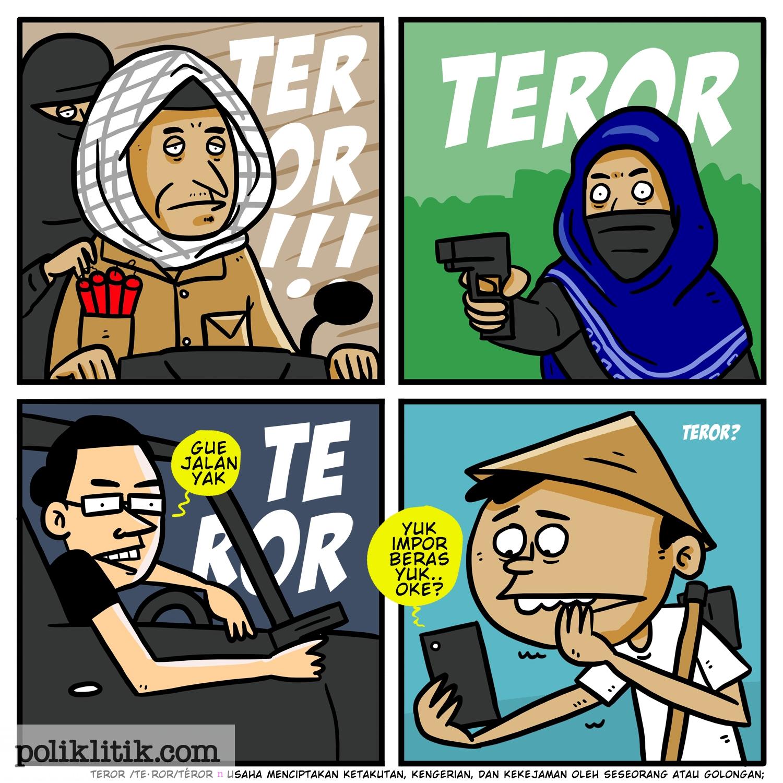 Wajah Teror