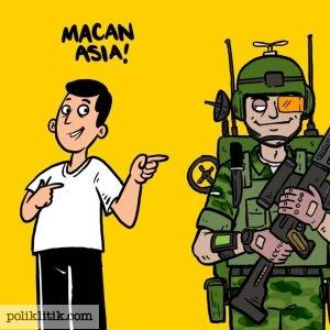 Indonesia Macan Asia