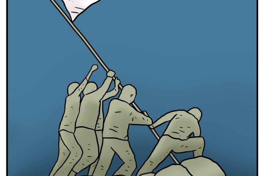 Kami Kibarkan Bendera Putih